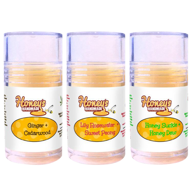 Natural Deodorant Stick - Honey's Handmade