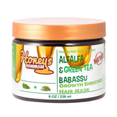 ALFALFA & Green Tea Babassu Growth Enriched Mask