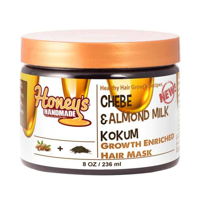 Chebe Almond Milk & Kokum Growth Enriched Mask - Honey's Handmade