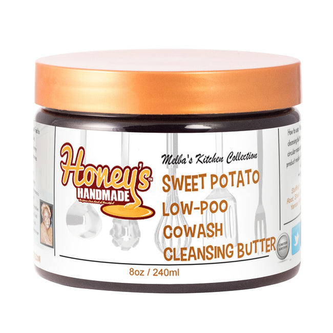 Melba's Sweet Potato Low-Poo CoWash - Honey's Handmade