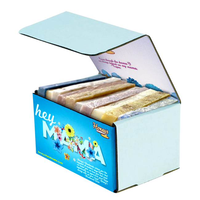 """Hey Mama"" Mother's Day Soap Box - Honey's Handmade"