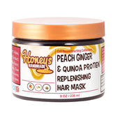 Peach Ginger & Quinoa Protein Replenishing Hair Mask