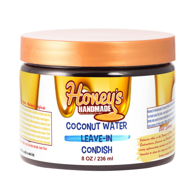 Coconut Water Leave-In Condish - Honey's Handmade