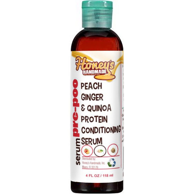 Peach Ginger & Quinoa Protein Conditioning Serum - Honey's Handmade