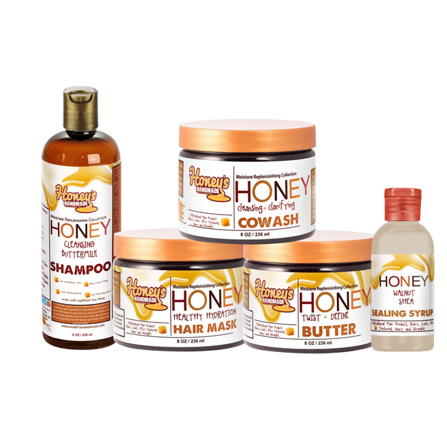Moisture Replenishing Collection - Honey's Handmade