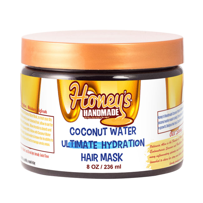 Coconut Water Ultimate Hydration Hair Mask - Honey's Handmade