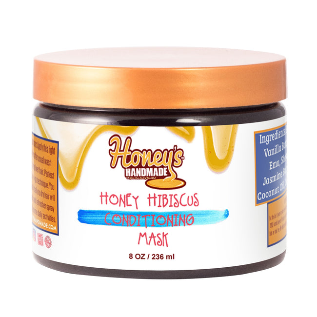 Honey & Hibiscus Conditioning Mask - Honey's Handmade