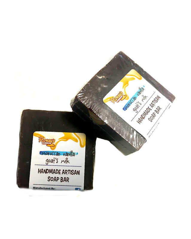 MOROCCAN VANILLA GOATS MILK ARTISAN SOAP BAR - Honey's Handmade