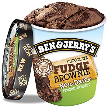 Ben & Jerry's Chocolate Fudge Brownie Eis Vegan 500ml