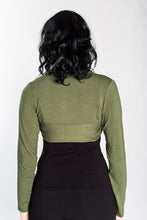 Load image into Gallery viewer, Olive Green Bolero