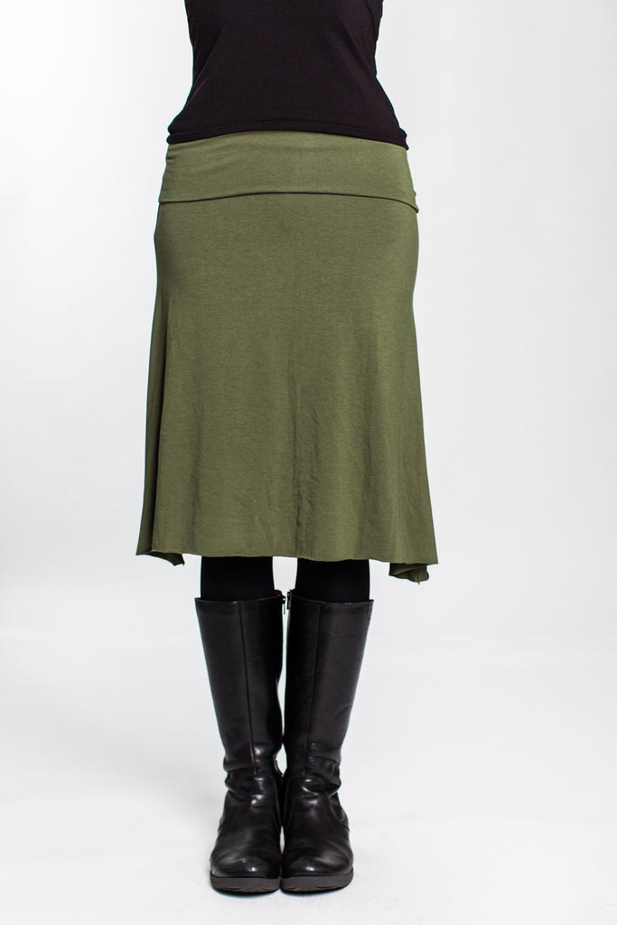 Olive Green Grab & Go Skirt