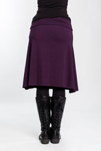 Load image into Gallery viewer, Plum Grab & Go Skirt