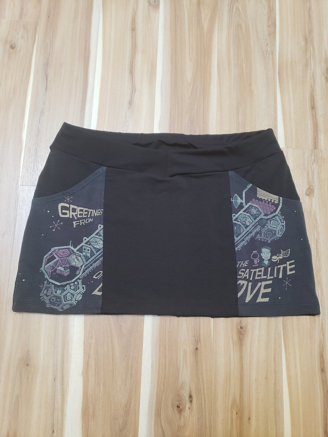Satellite Mini Skirt
