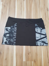 Load image into Gallery viewer, Black Veil Brides Mini Skirt