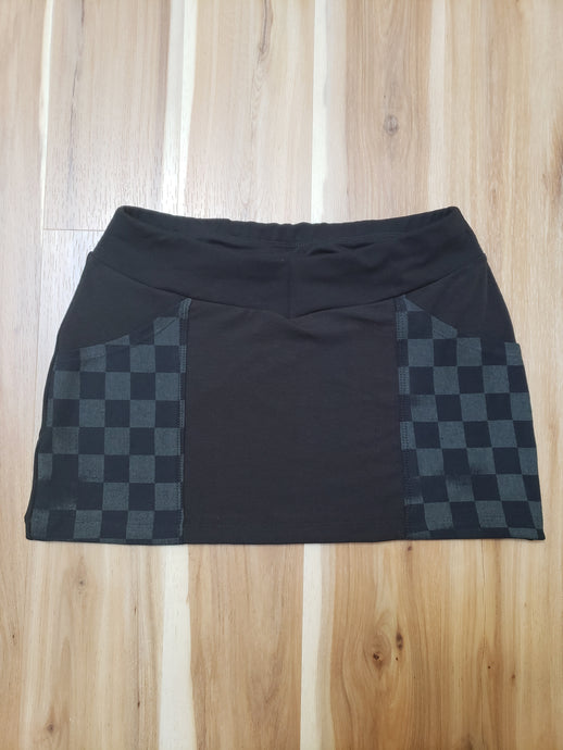 Checkerboard #2 Mini Skirt