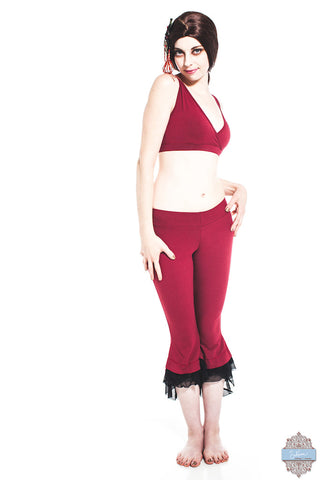 Red Organic Cotton & Bamboo Corrie Top