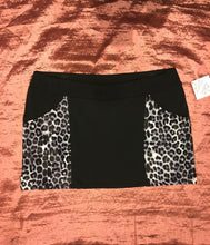 Load image into Gallery viewer, Grey Leopard Print Pocket Mini Skirt