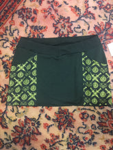 Load image into Gallery viewer, XL Only! Yellow Swords Pocket Mini Skirt