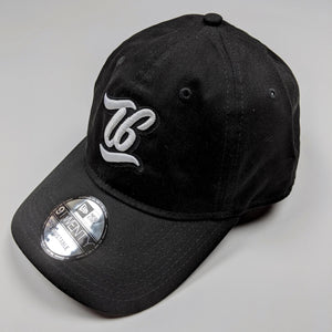T6 Cursive - T6 Designs Black New Era  adjustable unstructured caps were our pick for this amazing hat you see here! Normal raised embroidery with T6 (in cursive) centered in the middle of the cap.