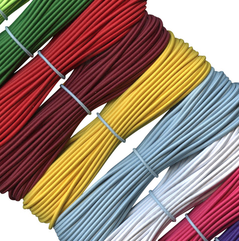 Collection of 2 mm elastic cords