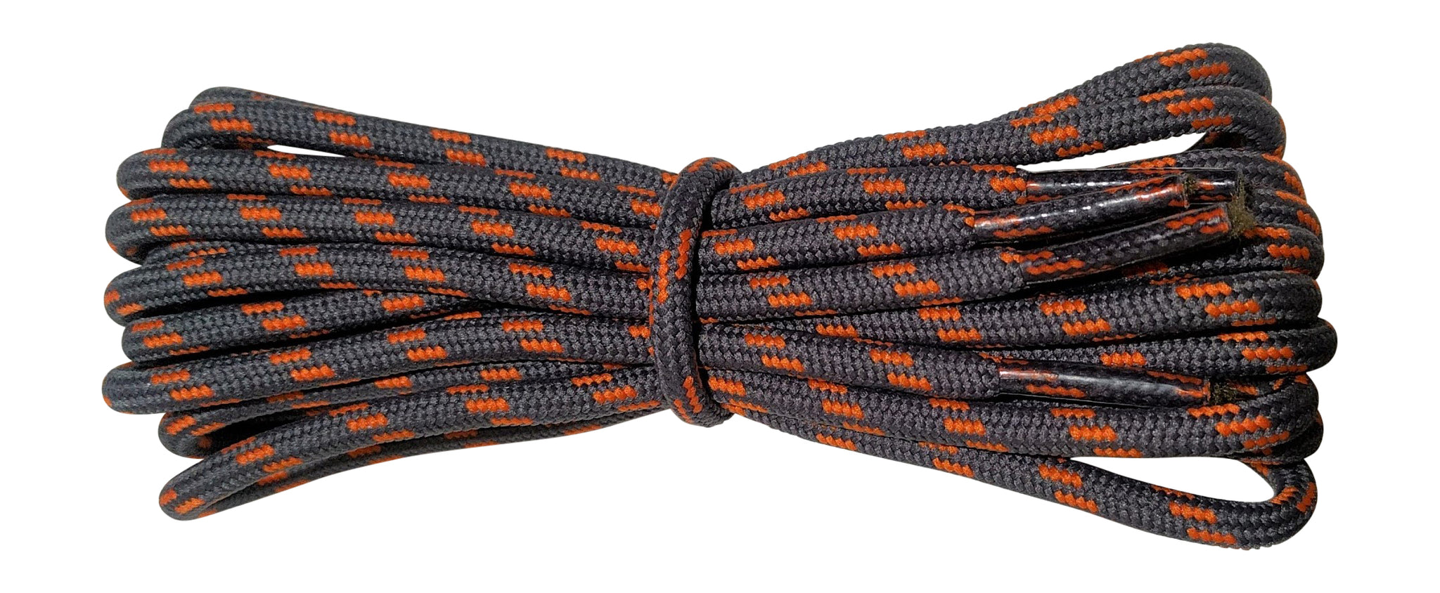 Strong Round Boot Laces dark Grey with