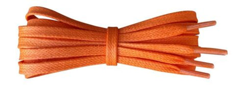 339a3557333 Flat Waxed Cotton Shoelaces - 6 mm - Coloured Laces | Fabmania Shoe ...