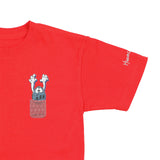 Playera junior Huevo Asesino - Roja