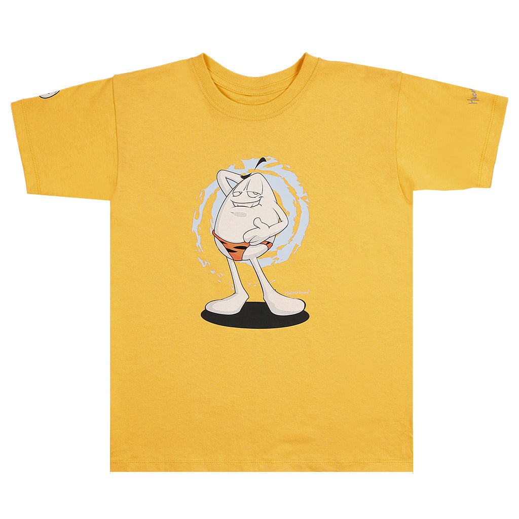 Playera junior Huevo Tanga - Amarilla