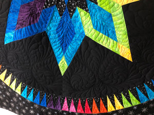 Digital Quilting File, Bright Star, Background, Jacqueline De Jong, Becolourful