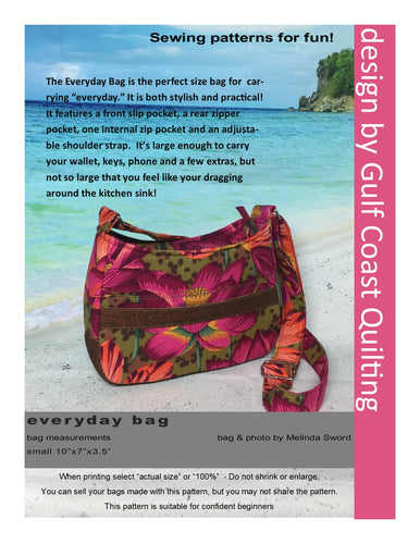Everyday Bag PDF Pattern