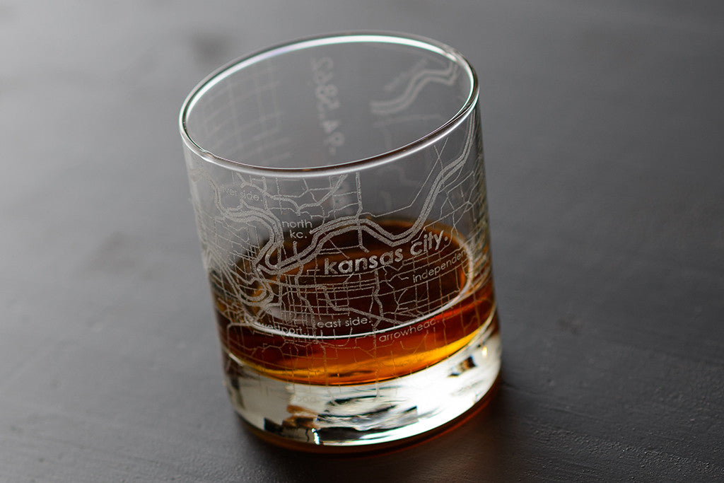 City Map Glasses City Maps Glassware | Etched City Map Glasses | theuncommongreen