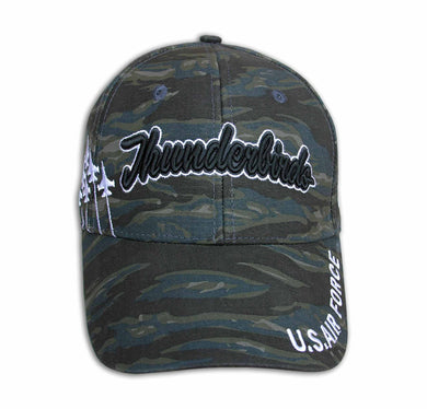 Thunderbirds Embroidered Camo Cap
