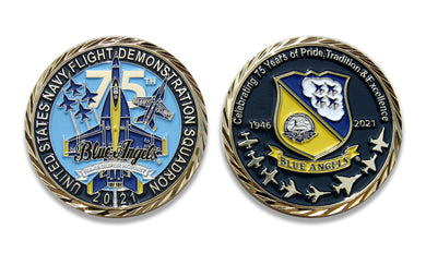 Blue Angels 2021 Challenge Coin