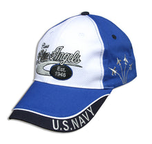 Load image into Gallery viewer, Blue Angels White, Royal and Navy Classic Embroidered Cap