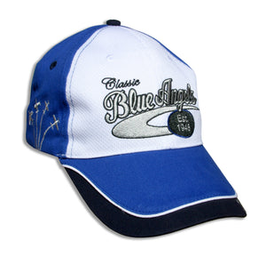 Blue Angels White, Royal and Navy Classic Embroidered Cap