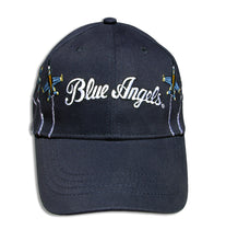 Load image into Gallery viewer, Blue Angels Navy Blue Adult Size Embroidered Breakout Cap
