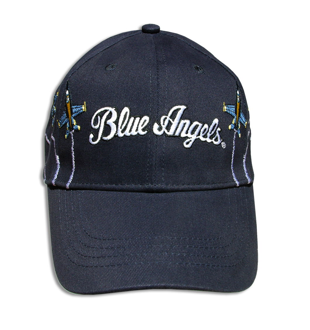 Blue Angels Navy Blue Adult Size Embroidered Breakout Cap
