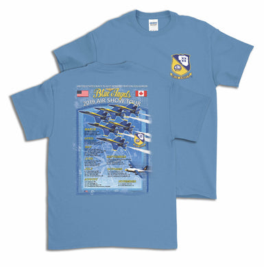 Blue Angels Tour T Shirt 2019