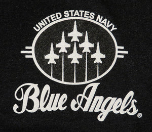 Blue Angels Black Polo