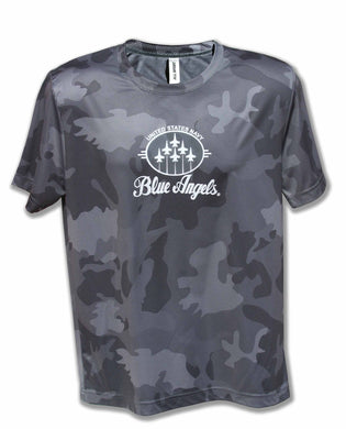 Blue Angels Grey Camo Dry Fit T Shirt