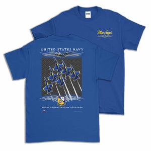 Blue Angels Delta Short Sleeve T Shirt