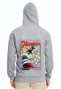 Thunderbirds Sneak Pass Hoodie Sweatshirt
