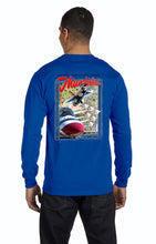 Load image into Gallery viewer, Thunderbirds Sneak Pass Long Sleeve T-Shirt