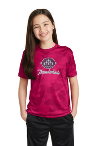 Girls Dry Fit Camo T-Shirt