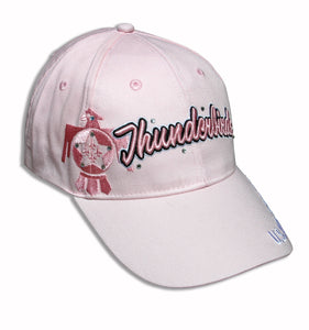 Thunderbirds Ladies Tonal Pink on Pink Bling Embroidered Cap