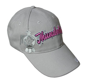 Thunderbirds Ladies Grey Bling Cap