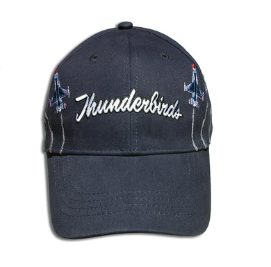 Thunderbirds Adult Size Breakout Embroidered Navy Blue Cap