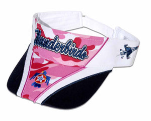 Thunderbirds Ladies Pink Camo Visor