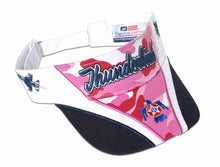 Load image into Gallery viewer, Thunderbirds Ladies Pink Camo Visor