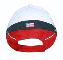 Load image into Gallery viewer, Thunderbirds White Tri Color Embroidered Cap